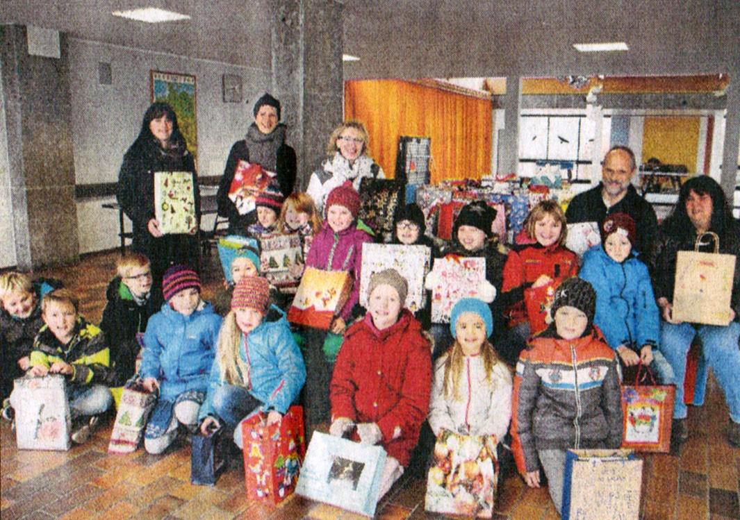 Berührende Begegnungen - Grund- und Mittelschule Hohenwart