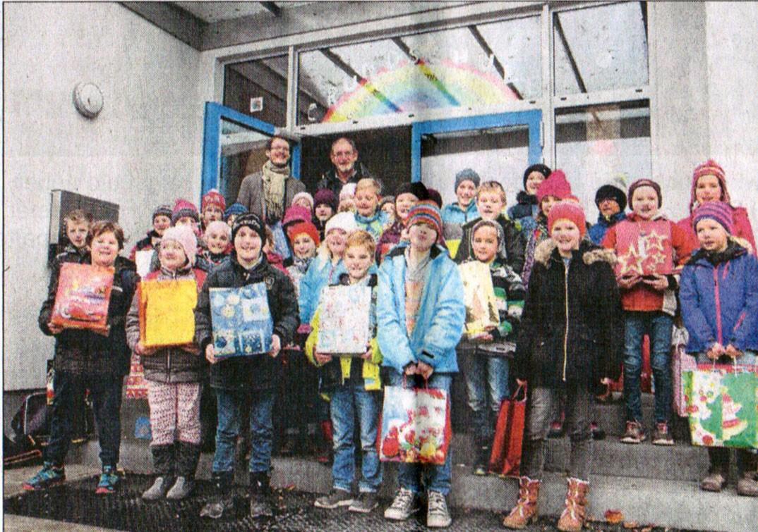 Berührende Begegnungen - Grundschule Berg-im-Gau