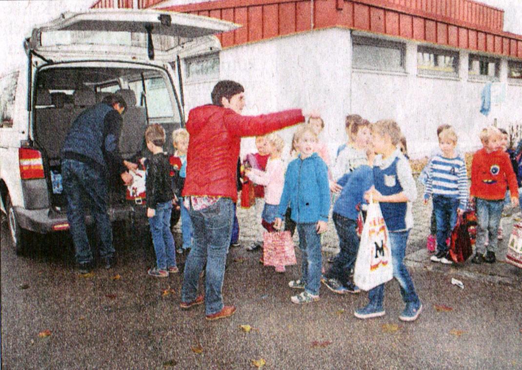 Berührende Begegnungen - Grundschule Königsmoos