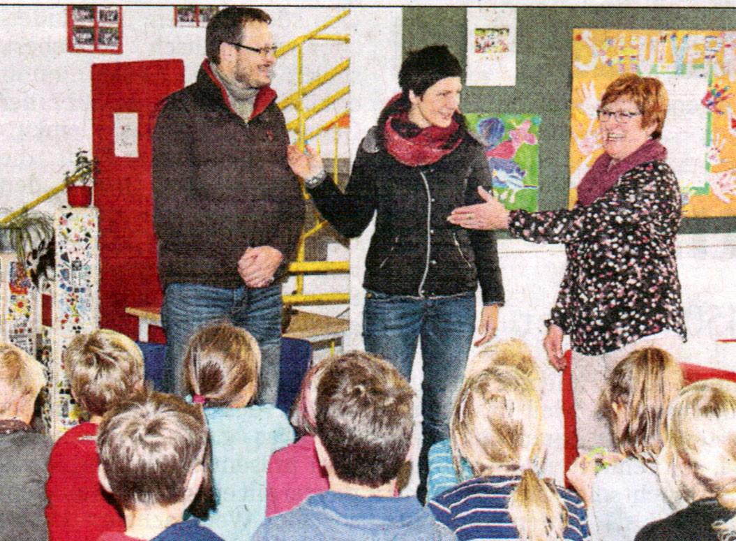 Berührende Begegnungen - Grundschule Schiltberg
