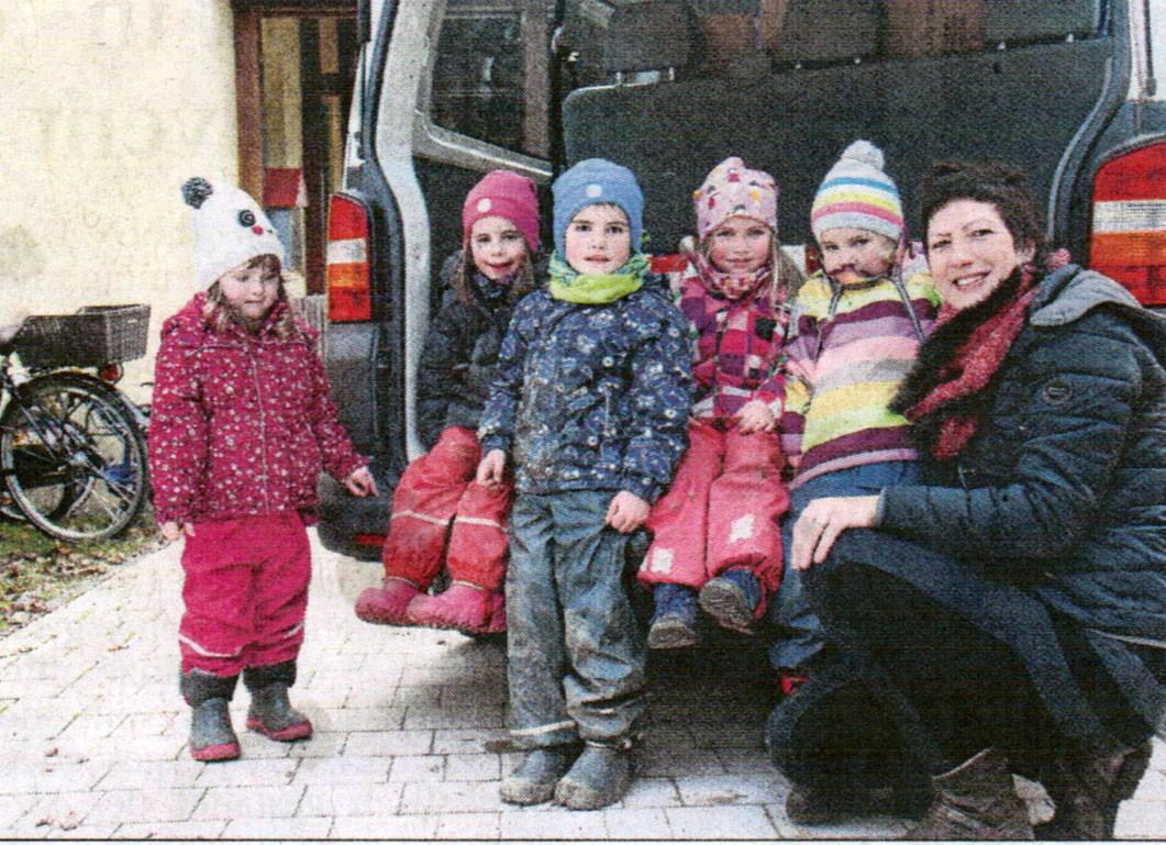 Berührende Begegnungen - Kindergarten Sandizell