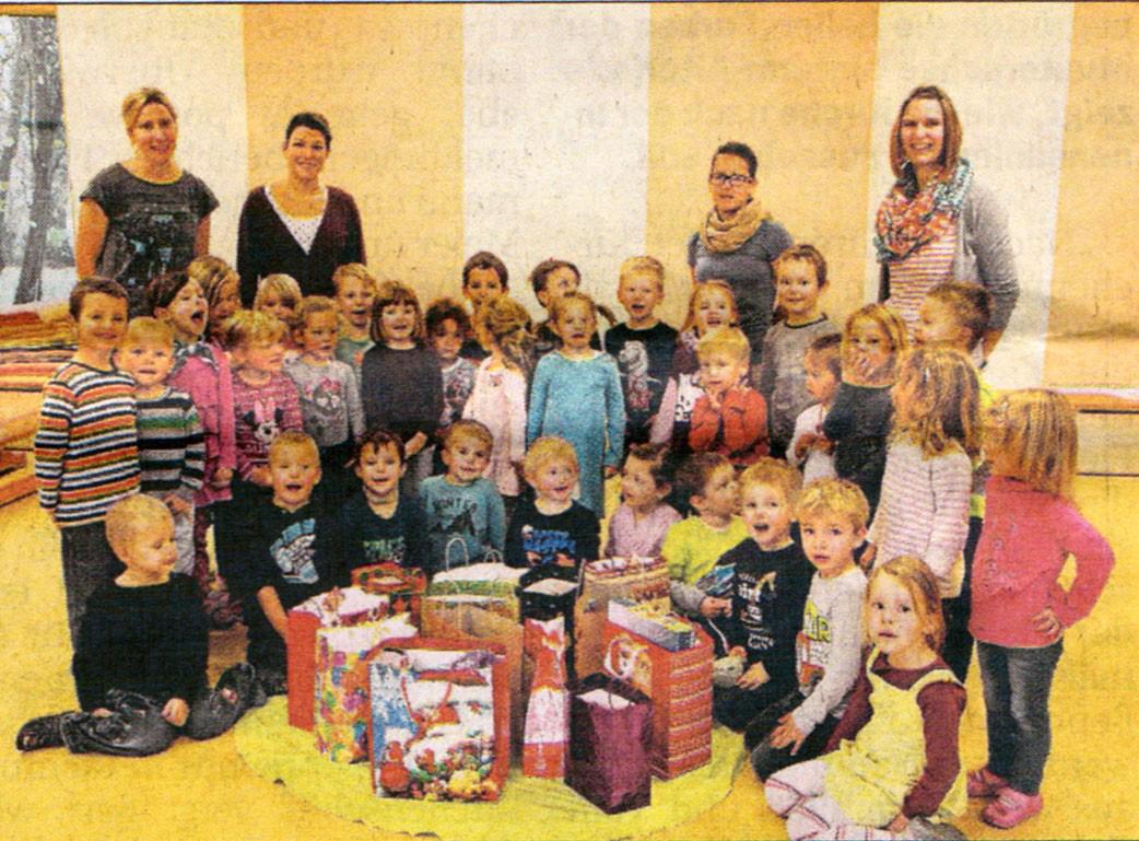 Berührende Begegnungen - Kindergarten St. Johannes Weichenried
