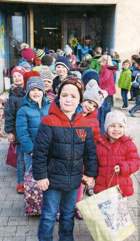 Berührende Begegnungen - Kindergarten St. Wofoldus Hohenwart