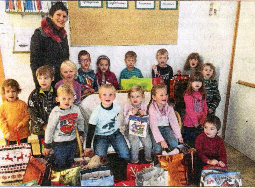 Berührende Begegnungen - Kindergarten Taka Tuka-Land