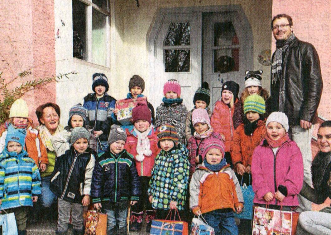 Berührende Begegnungen - Kita St. Martin Hörzhausen