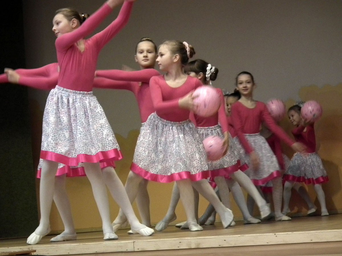 Konzert mit Tanz