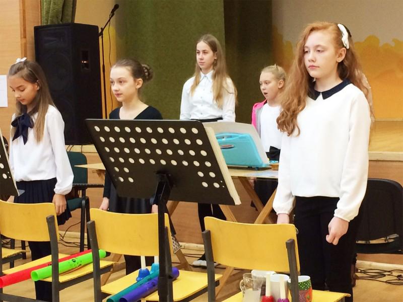 Konzert mit Gesang