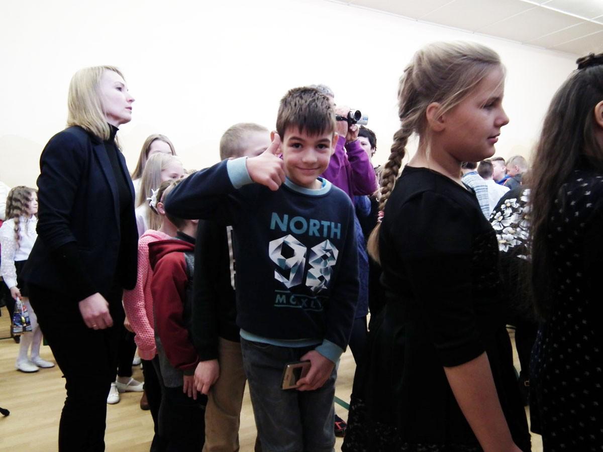 Vorfreude bei den Kindern
