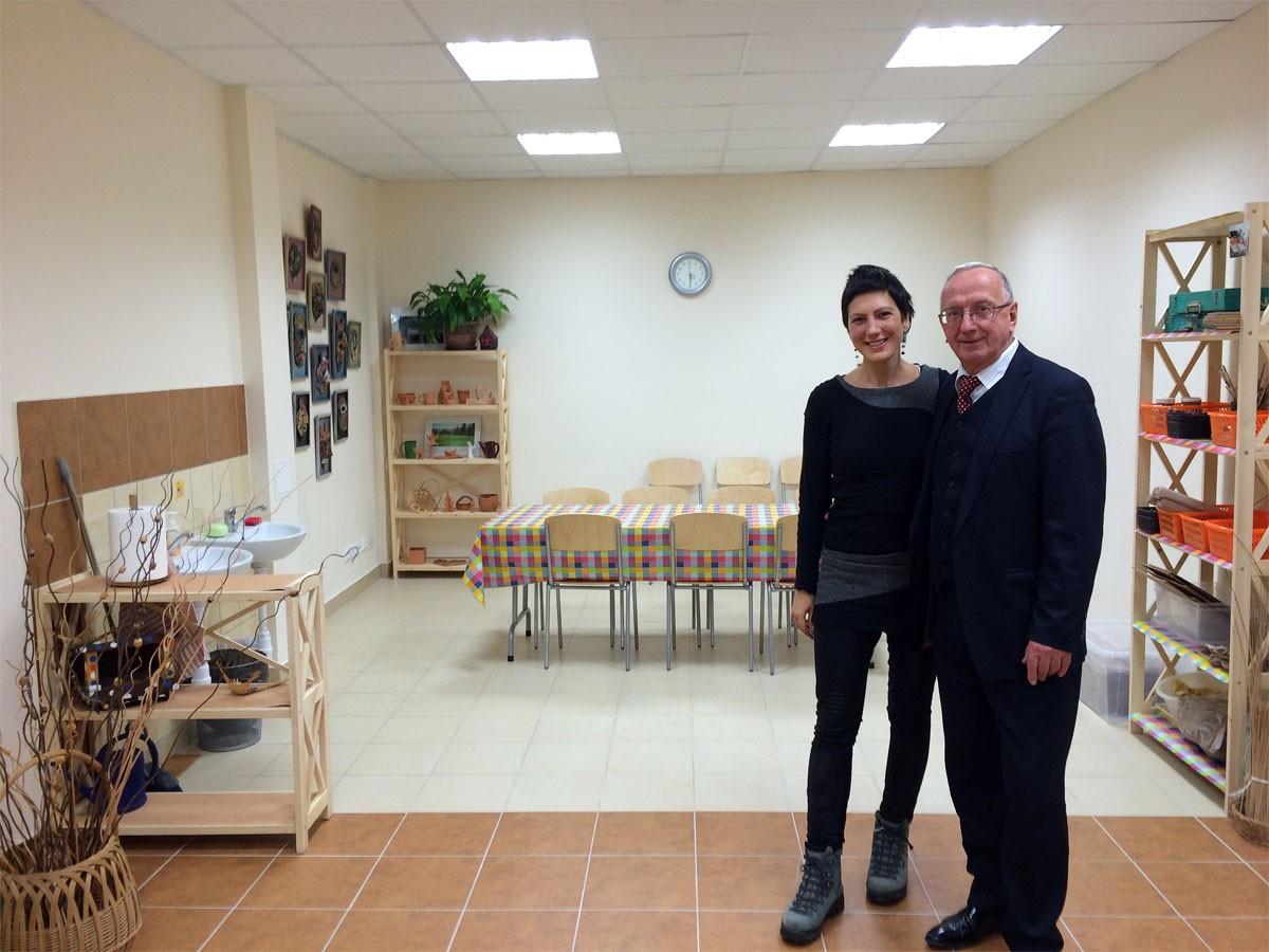 Sonderschule und Kinderheim Kaunas - 2. Therapieraum