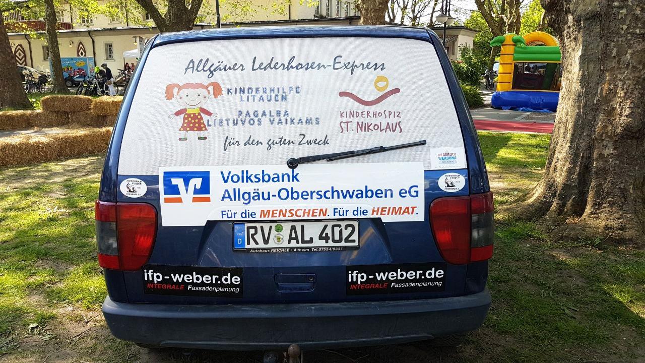 Lederhosen Express 2: Werner Meinert Joe Singer Auto: Fiat Ulysse