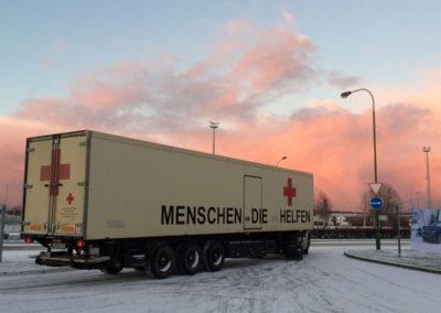 Weihnachtstransporte nach Litauen