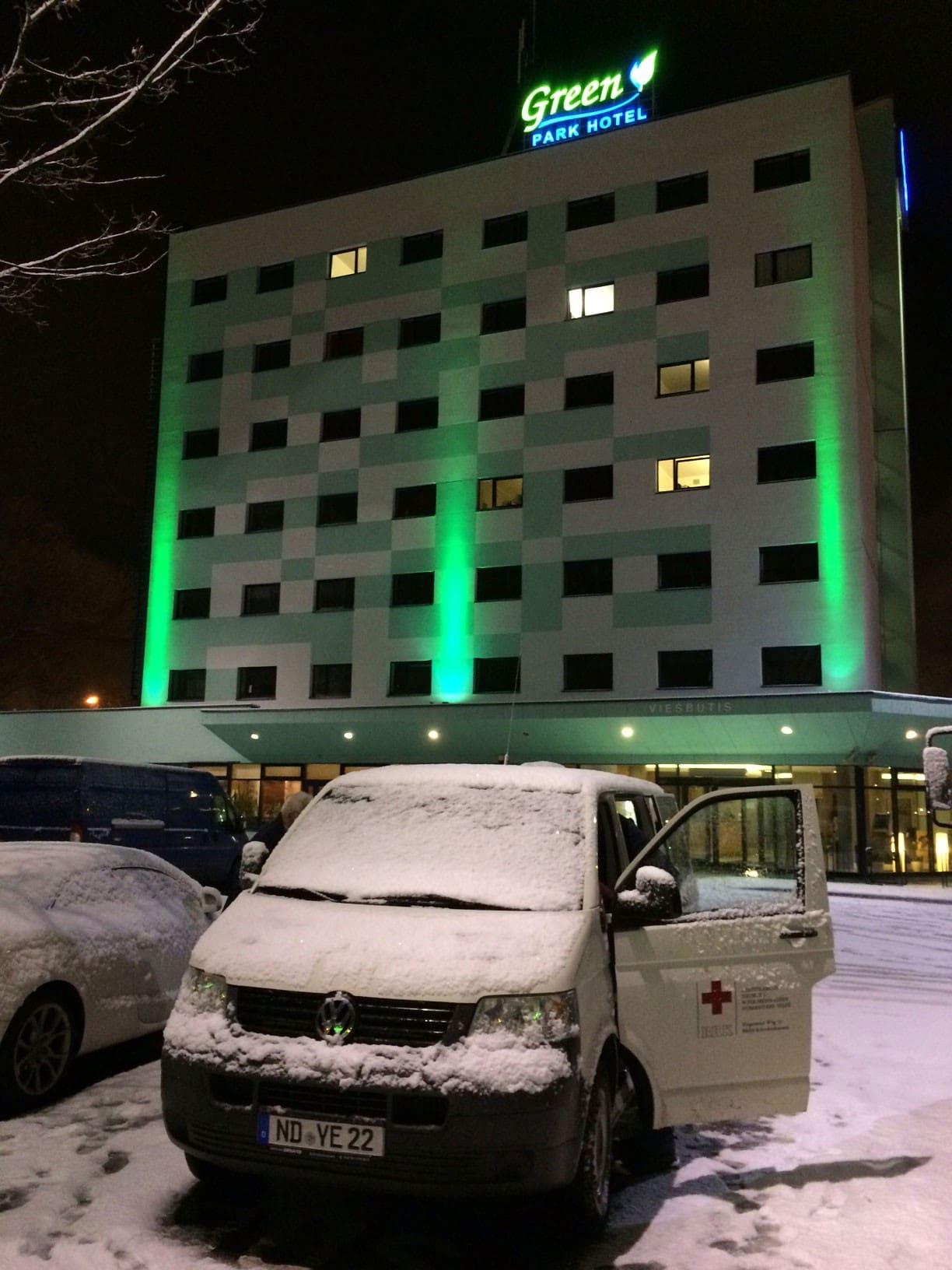 Reisetag 8 Weihnachtstransport 2016 - Hotel