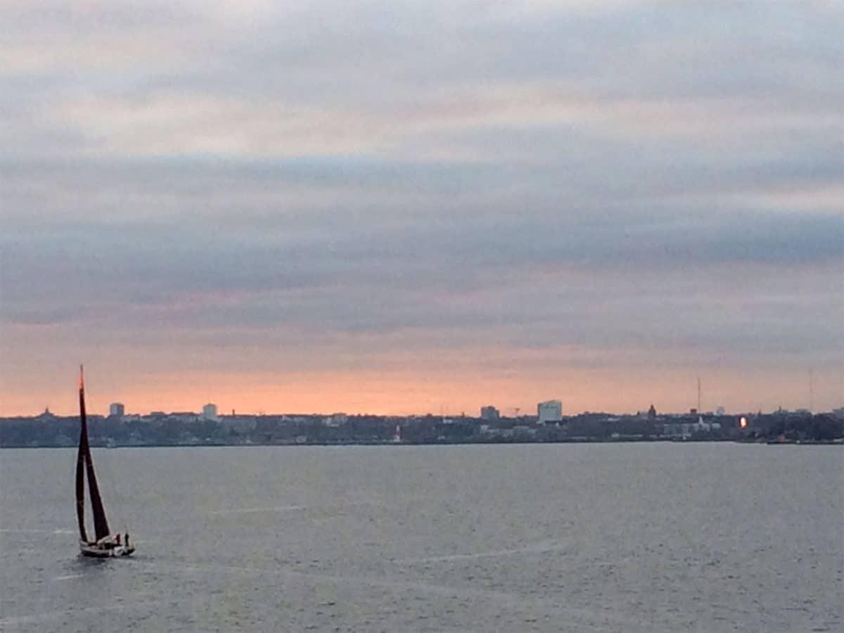 Reisetag 9 Weihnachtstransport 2016 - Ankunft in der Kieler Bucht