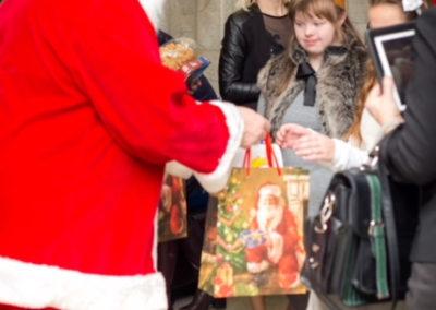 Weihnachtsfeier in der Sonderschule Kaunas 21