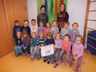Kindergärten Hohenwart und Hörzhausen spenden Bild 1