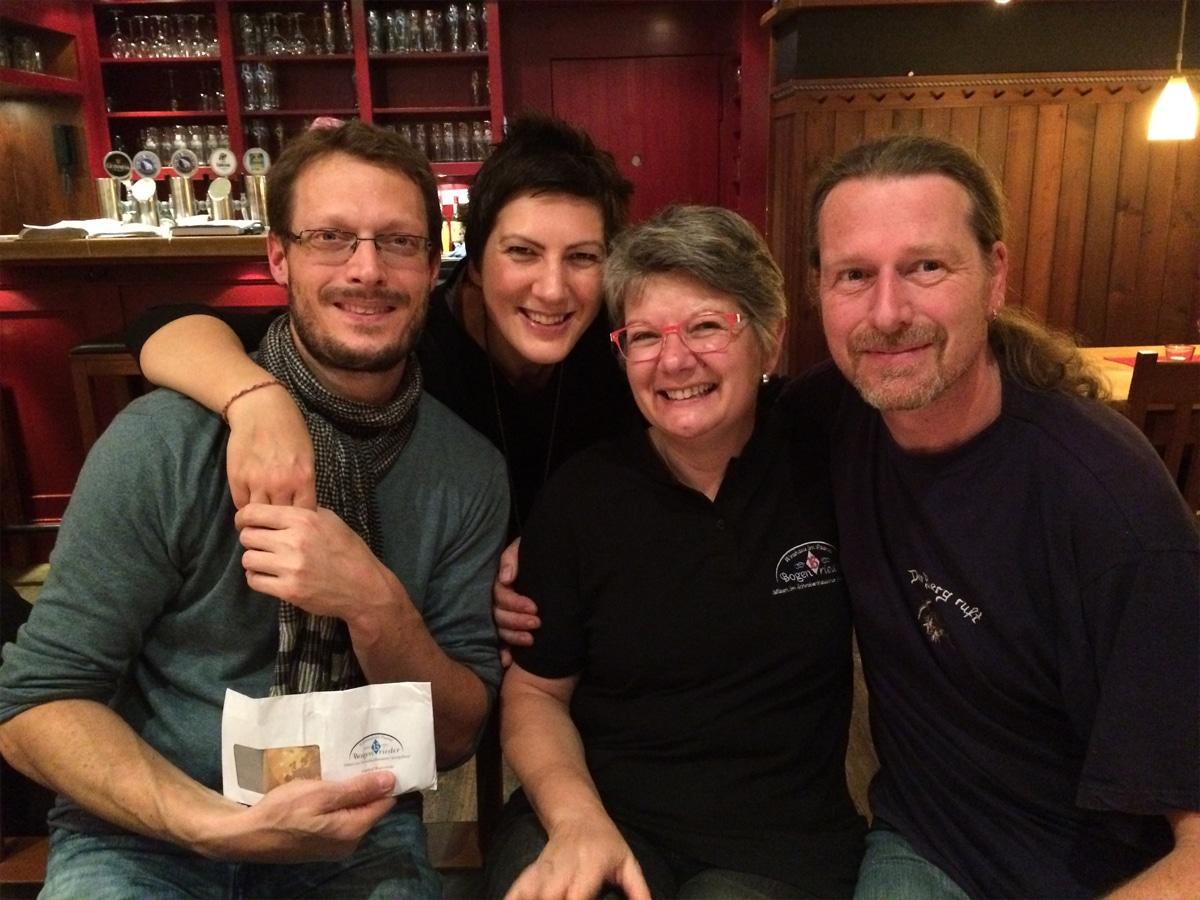 Wir danken herzlich der Familie Bogenrider und Paddy Whack