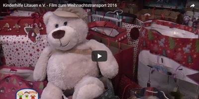 Film zum Weihnachtstransport 2016