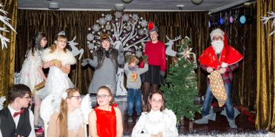 Weihnachtsfeier in der Sonderschule Kaunas