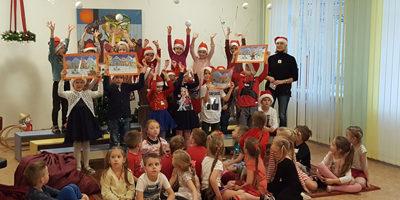 Weihnachtsgaben im Kindergarten Radestele Klaipeda