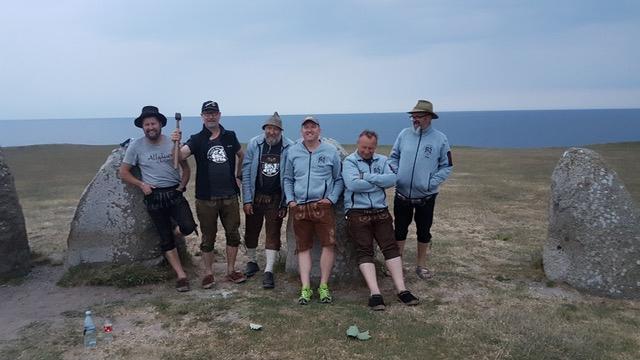Allgäuer Lederhosen-Express unterstützt die Kinderhilfe Litauen durch die Teilnahme an der nördlichsten Ralley der Welt