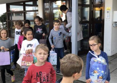 Tütenabholung Grundschule Königsmoos