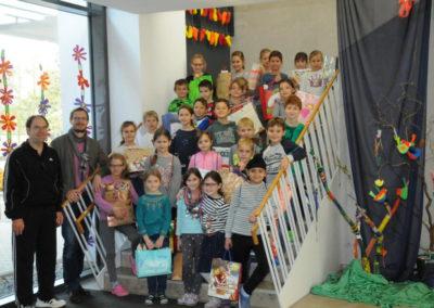 Weihnachtstütensammeln 2018 - Grundschule Mühlried