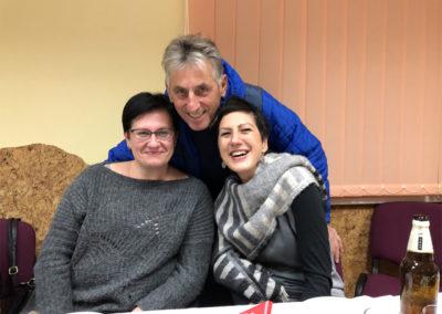 Kristina , Sepp und Eva