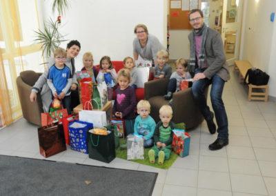 Weihnachtstütensammeln 2018- Kindergarten Lummerland