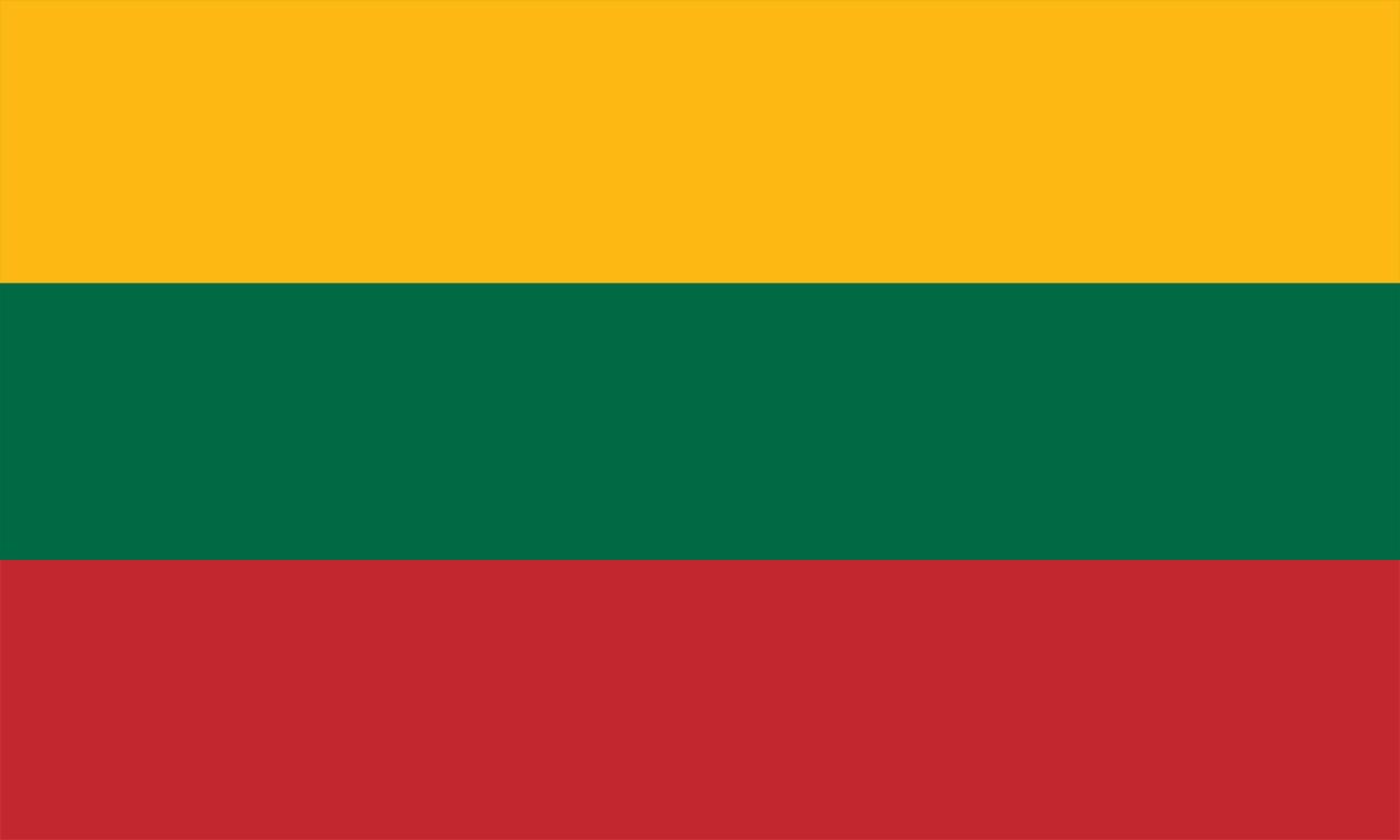 (fast alles über Litauen - Flagge