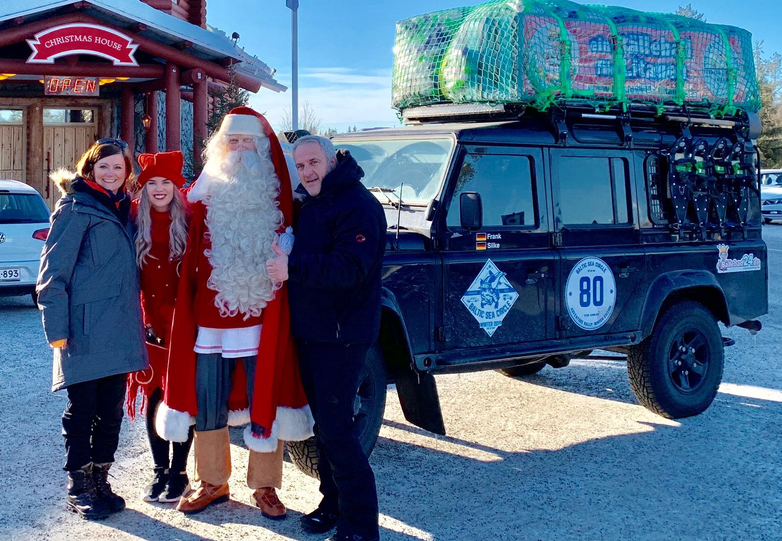 Team Bällebad bei Baltic Sea Circle Winter 2019 - Beim Weihnachtsmann 2