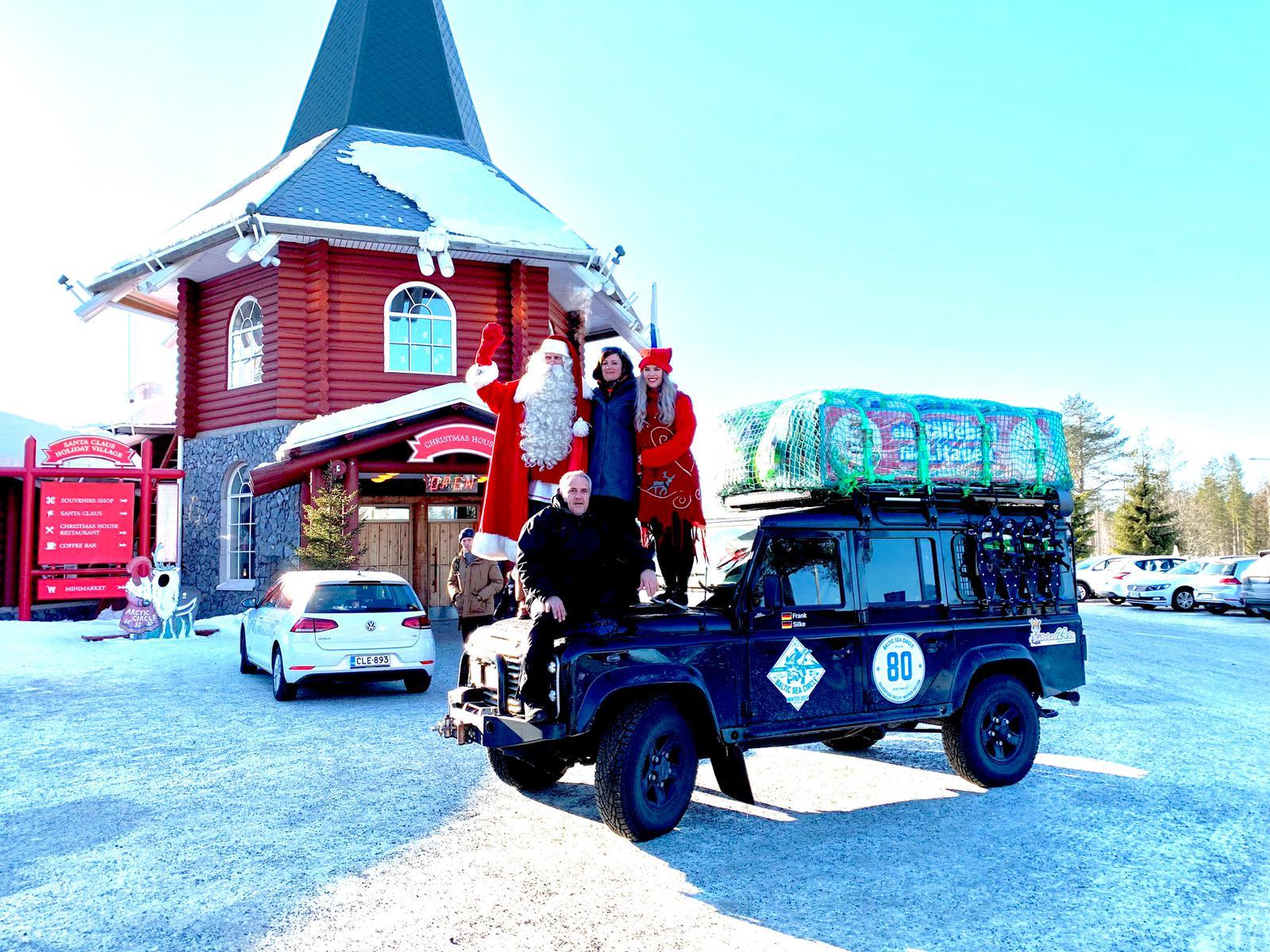 Team Bällebad bei Baltic Sea Circle Winter 2019 - Beim Weihnachtsmann 1