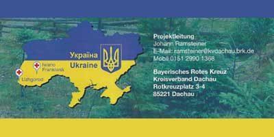 Rotes Kreuz Dachau Ukraine-Projekt