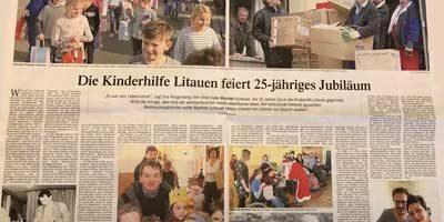 Kinderhilfe Litauen feiert 25-jähriges Jubiläum