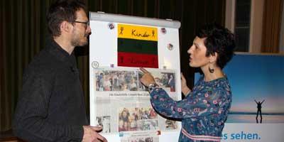 Viele helfende Hände für Litauen