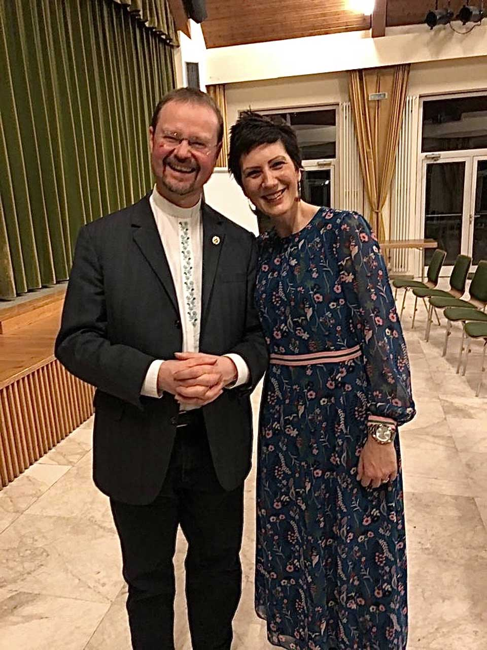 Litauen Situation und Hilfe Stadtpfarrer Georg Bühler und Eva