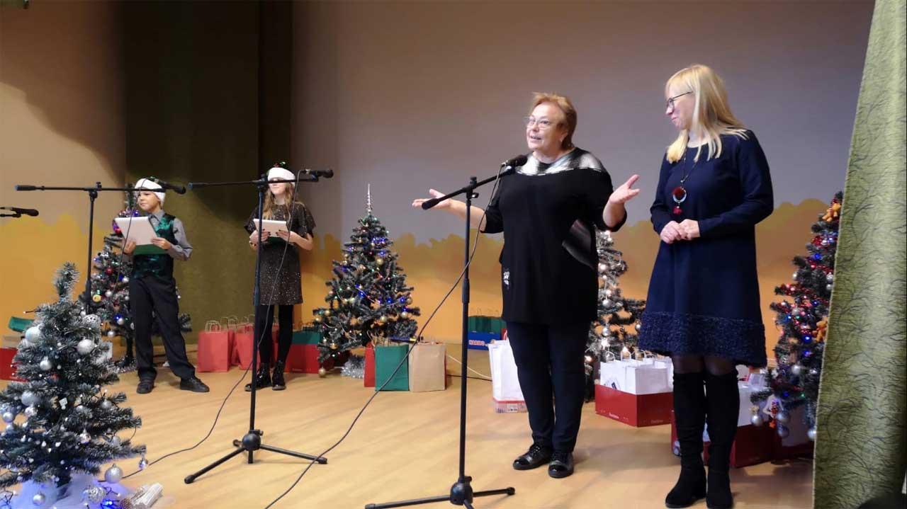 Weihnachtsfeier 2019 Schule Zelsva