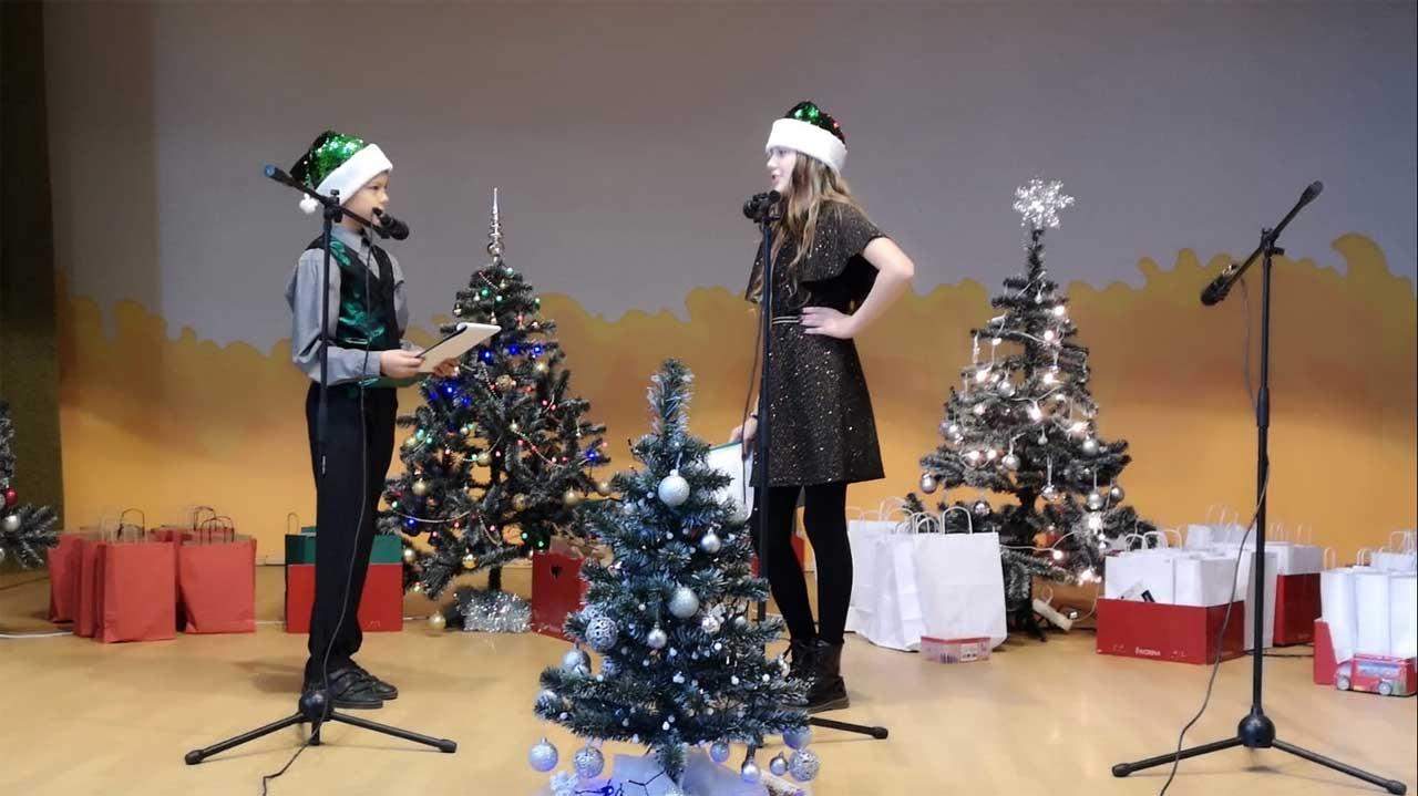 Weihnachtsfeier 2019 Zelsva Vorführung