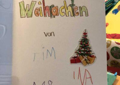 Weihnachtsgrüße nach Litauen Station 1 bis ... 117