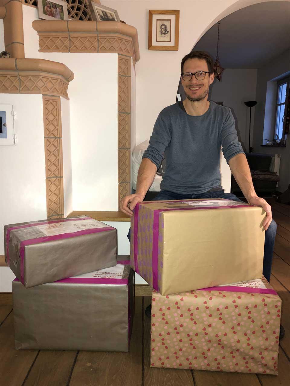 Geschafft 😅 - alle Packerln fertig