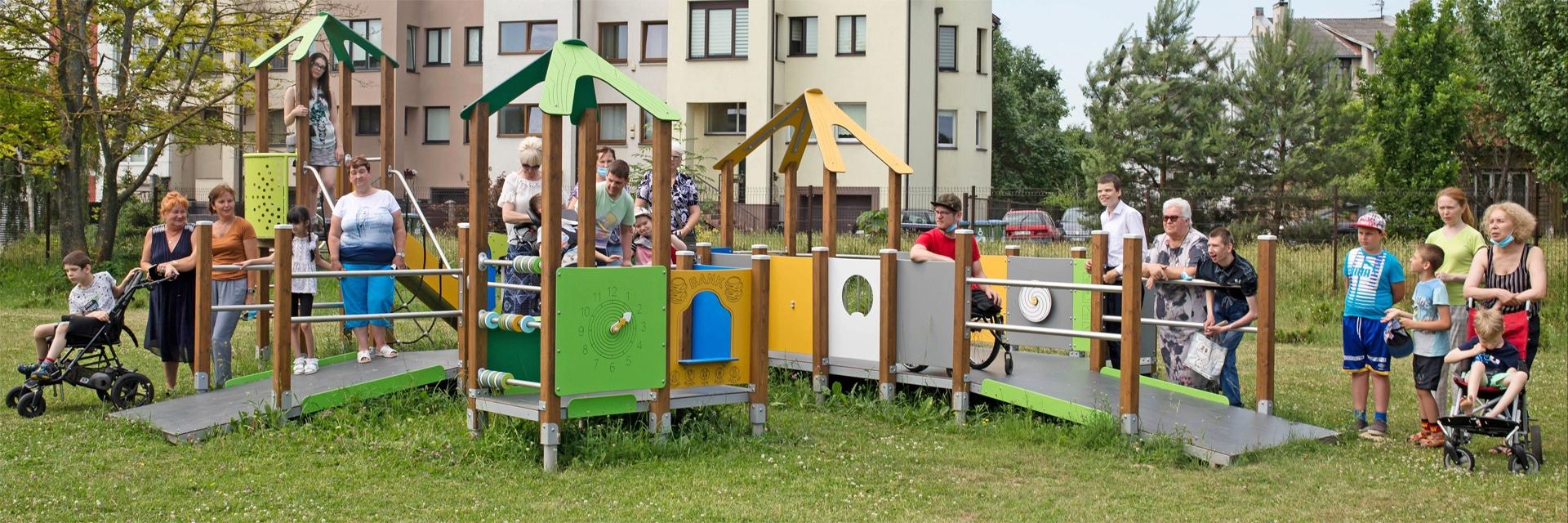 Inklusionsspielanlage Sonderschule Kaunas