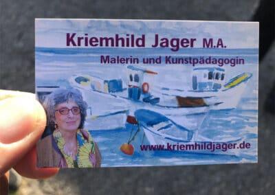 Kriemhild Jager spendet Bilder für Kinderhilfe 5