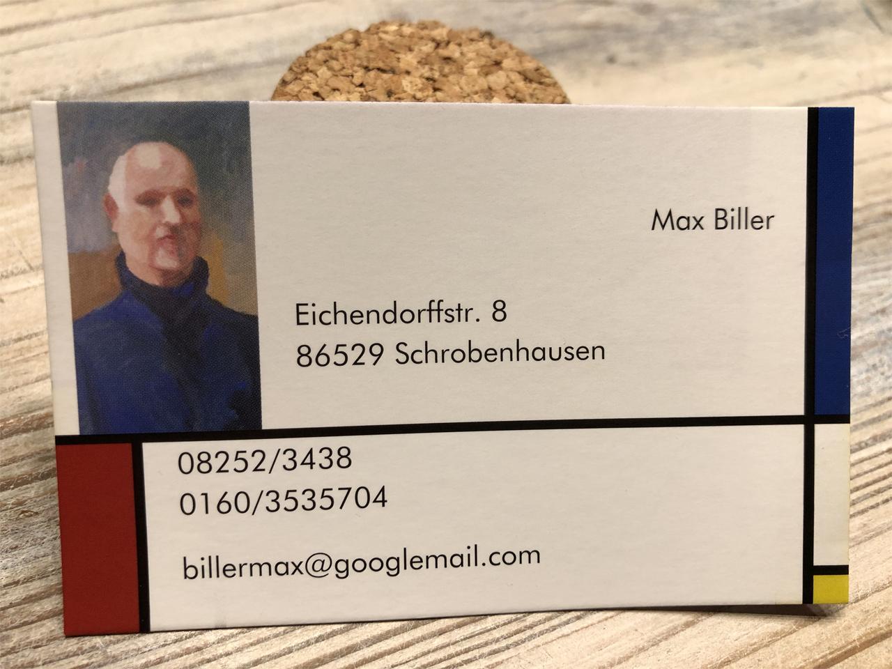 Max Biller Künstler Schrobenhausen
