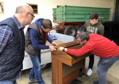 Öffentliche Annahme Orgel